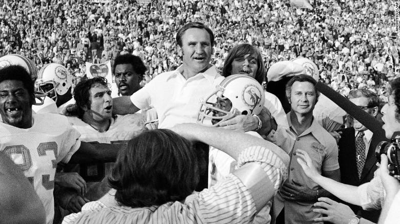 Don Shula, long-time Miami Dolphins coach and two-time Super Bowl ...