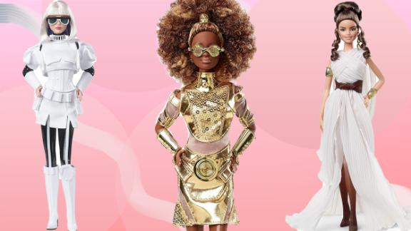 The Barbie x Star Wars collaboration is giving us a stylish take on the characters that we love (think Darth Vader, Stormtrooper, and yes, even Chewbacca).