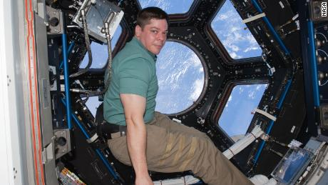 NASA astronaut Robert Behnken's last visit to the International Space Station was in 2010. He arrived aboard Space Shuttle Endeavour.