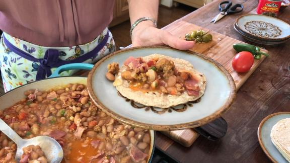 Pati Jinich easy one-pot taco recipe