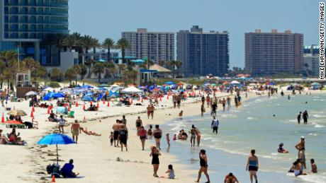 Floridians stopped traveling well before official shutdowns, data shows