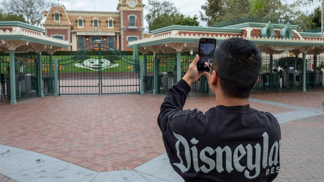 Disneyland and other theme parks can't reopen for months under ...