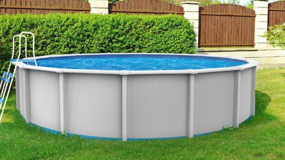 Blue Wave Cambrian 24-ft Round Above-Ground Pool