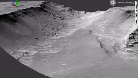 Evidence of ancient rivers found on Mars, the study says
