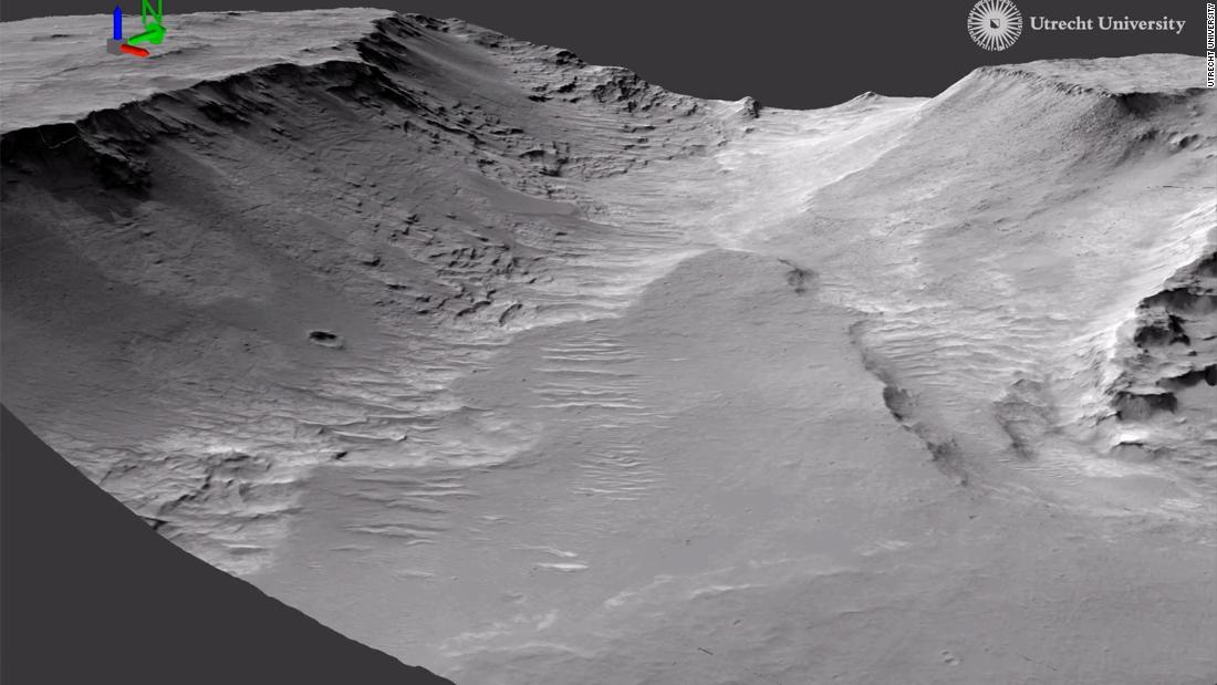 Evidence of ancient rivers spotted on Mars, study says