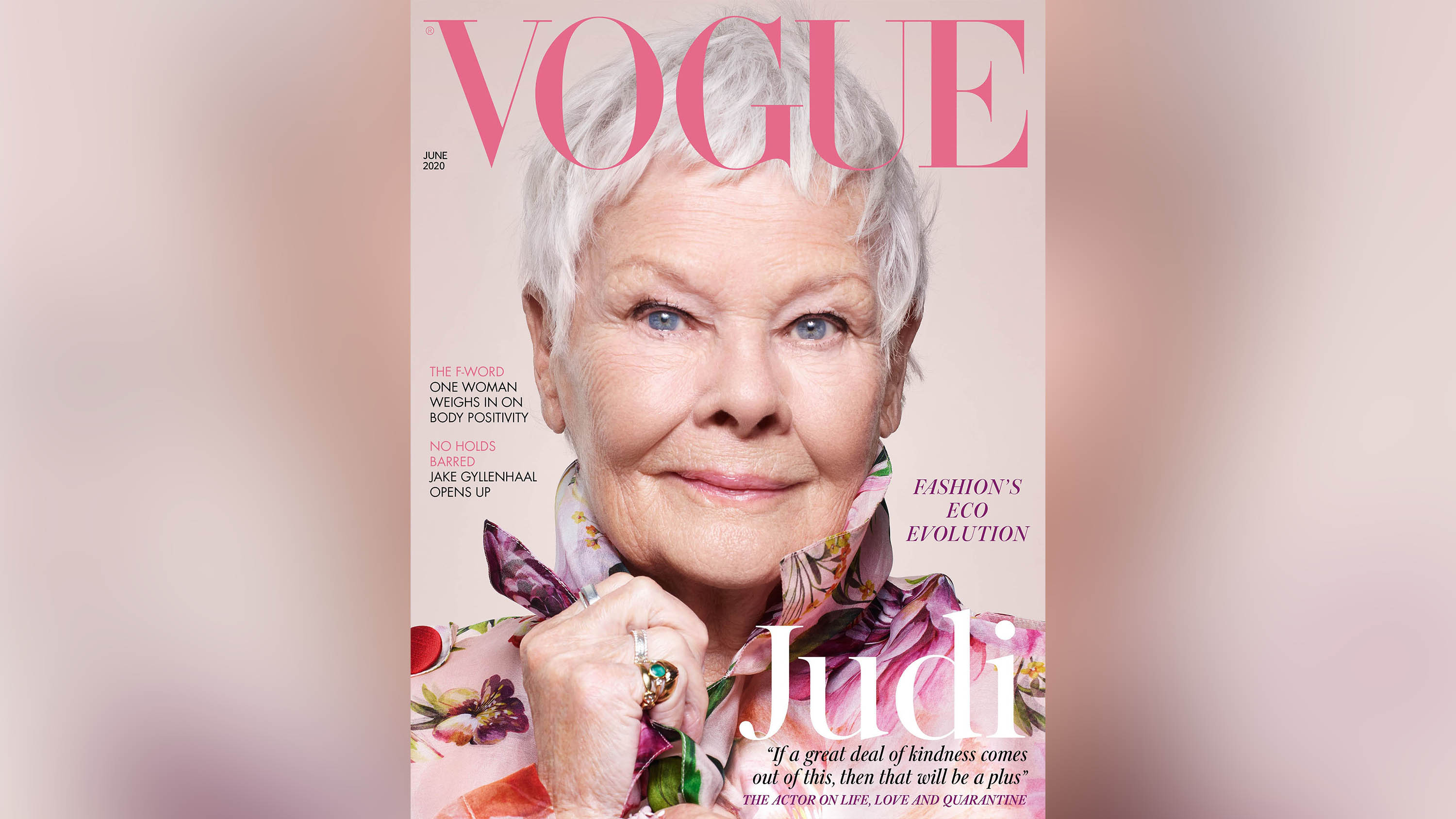 Judi Dench becomes British Vogue's oldest cover star - CNN Style