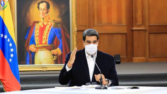 Nicolás Maduro/Twitter