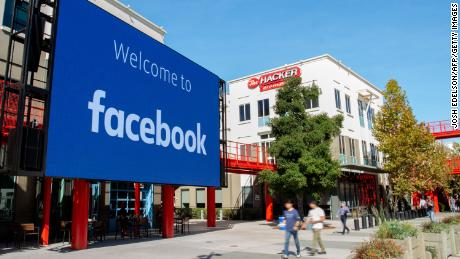 "Facebook's Menlo Park headquarters, which opened in 2015, occupies nine acres and has its own network of walking trails. At the time, CEO Mark Zuckerberg described the office's open floor plan as the largest in the world, ""a single room that fits thousands of people."""