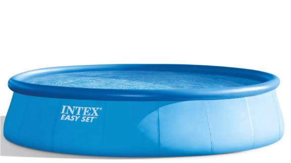 """Intex 18' x 48"""" Inflatable Round Outdoor Above Ground Swimming Pool Set"""