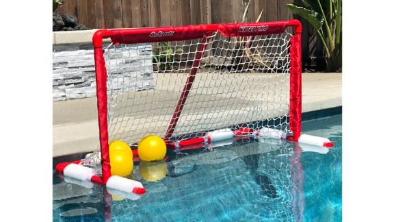 GoSports Floating Water Polo Game Portable Goal
