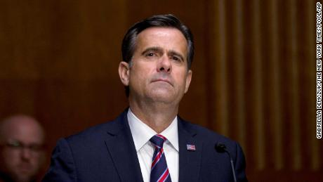 Ratcliffe testifies for the Senate Intelligence Committee nomination hearing Tuesday on Capitol Hill.