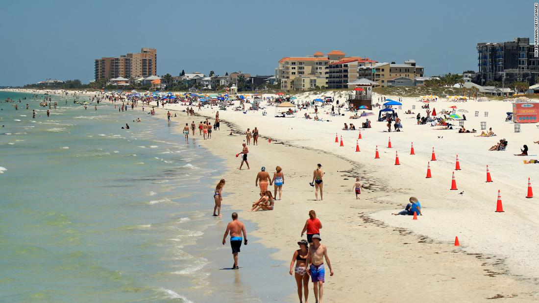 Florida's seeing a surge in coronavirus cases. But there's good news, too
