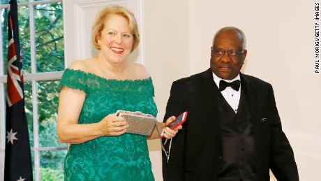 Clarence Thomas' wife apologizes to his former clerks for divide that developed amid fallout over Capitol riot