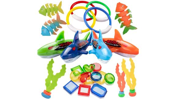 Uneede 26 Piece Diving Pool Toys