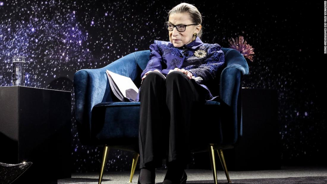 "In December 2019, <a href=""https://www.cnn.com/2019/12/17/politics/ruth-bader-ginsburg-donald-trump-lawyer-trnd/index.html"" target=""_blank"">Ginsburg was awarded the Berggruen Institute Prize for Philosophy and Culture.</a> She planned to donate the $1 million prize to a number of organizations that promote opportunities for women."