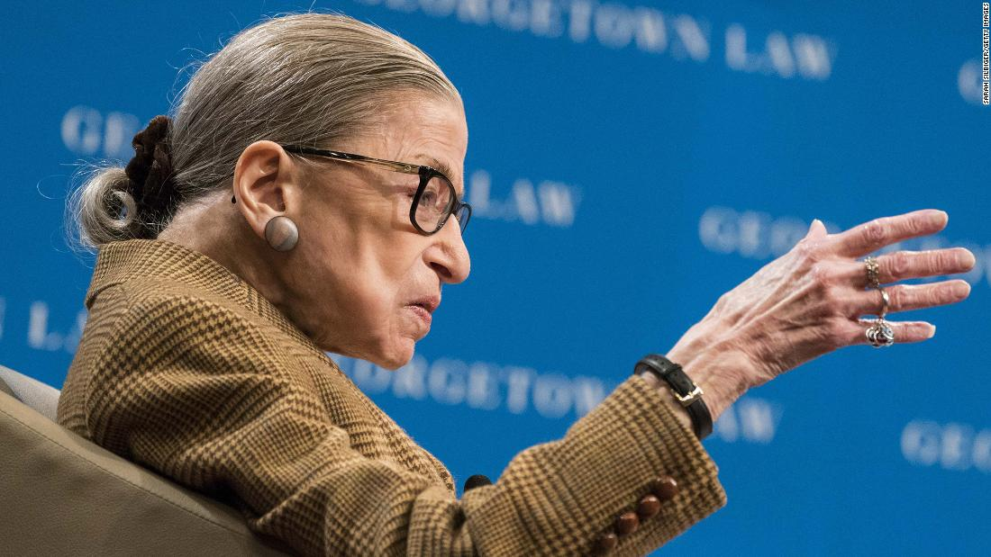 Ruth Bader Ginsburg hospitalized for possible infection | Joan Biskupic, CNN