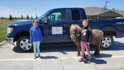 This 11-year-old girl cheers up isolated nursing home residents by bringing her pony to their windows