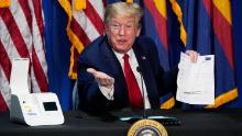 Trump says administration will continue legal fight to eliminate Obamacare