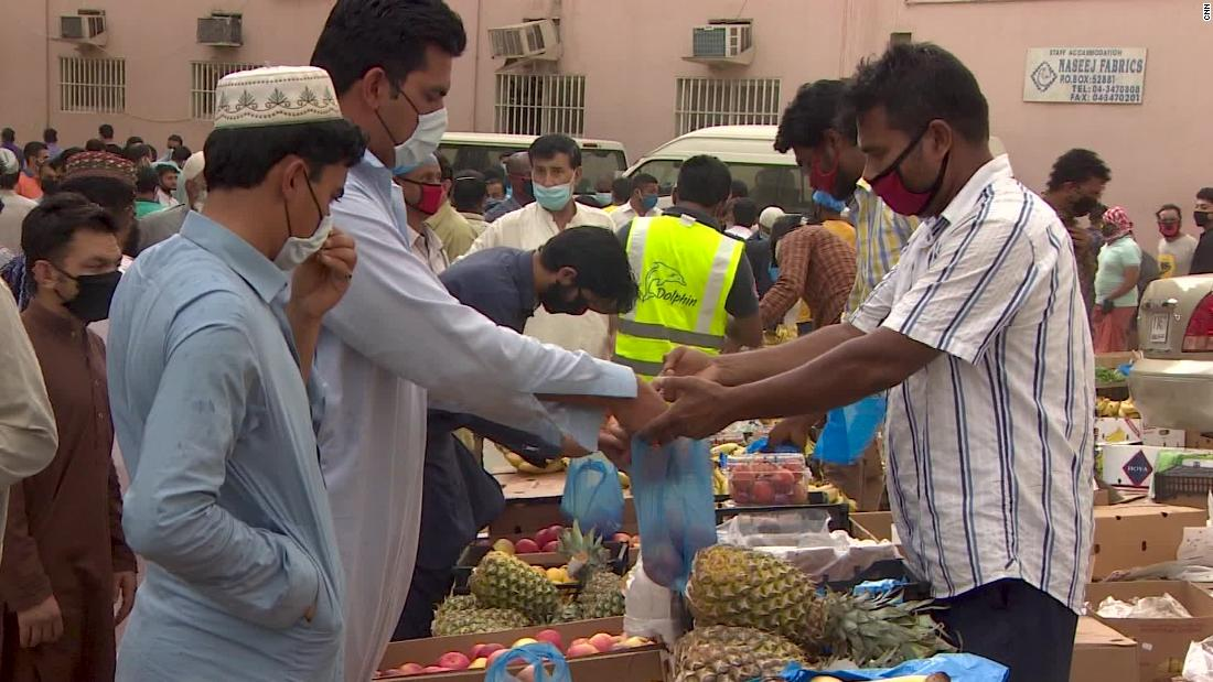 Migrant workers in UAE