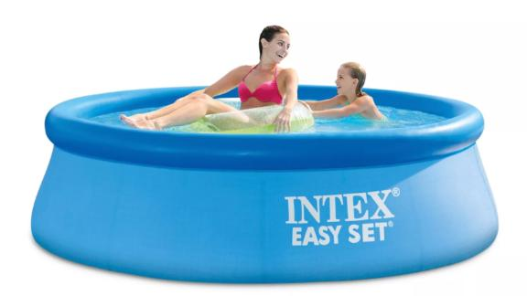 """Intex 8' x 30"""" Easy Set Round Inflatable Above Ground Pool"""