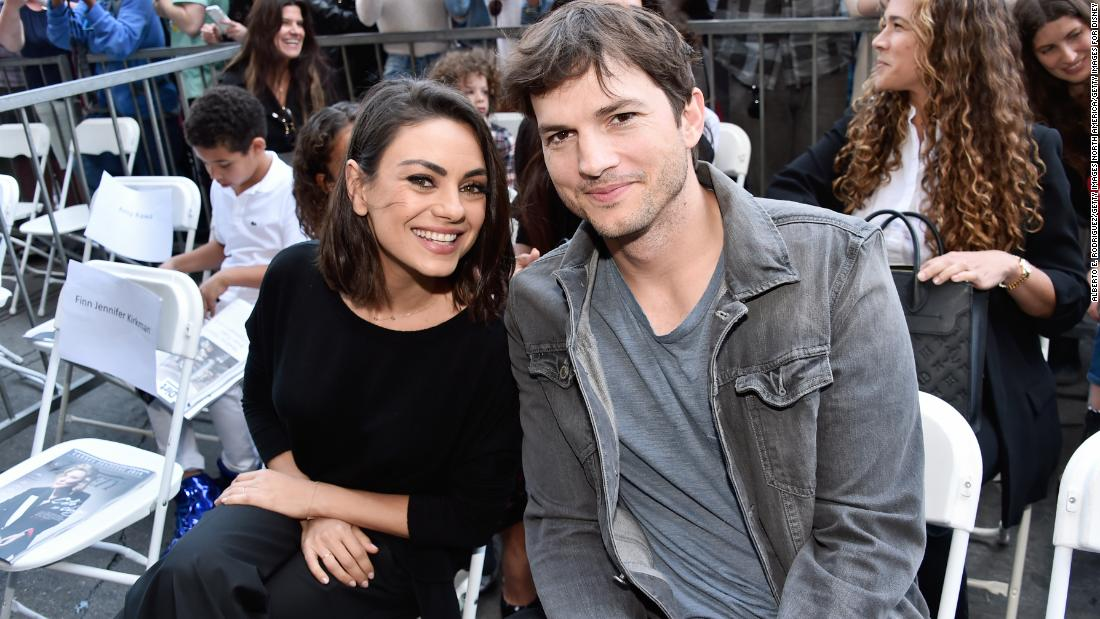 Ashton Kutcher and Mila Kunis say they don't believe in bathing their kids or themselves too much
