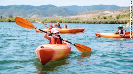 Due to the pandemic, summer camps like Colorado-based Avid4 Adventure, whose campers are shown here in better times, have been scrambling.