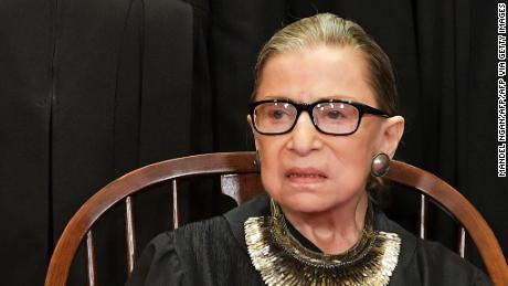 Hear RBG call into oral arguments from the hospital