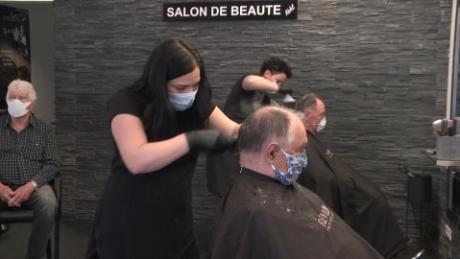 Get Used To The New Normal Masks Distancing Cnn Video