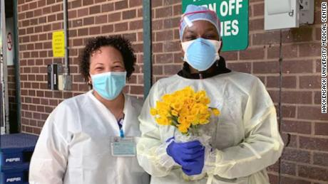 WATCH: How a New Jersey Morgue Worker Honors the Dead Coronavirus Victims in her Care