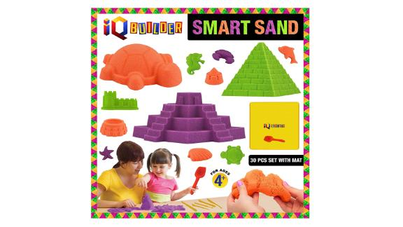 Moldable Synthetic Beach Sand Kit for Children