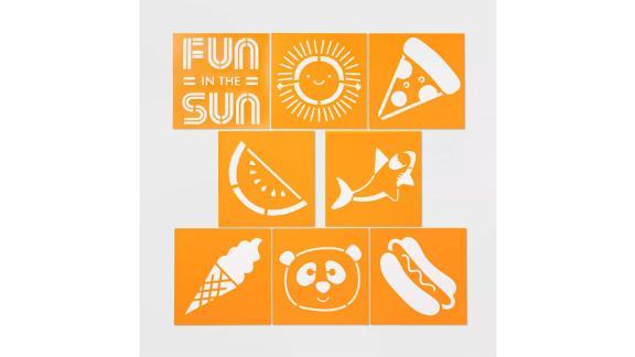 Stencils 8pc - Sun Squad