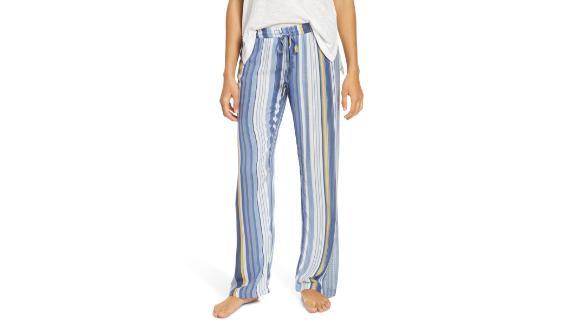 Beach Blue Stripe Pajama Pants