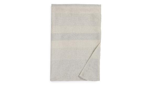 Mélange Stripe Throw Blanket