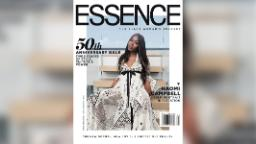 Naomi Campbell, isolated like the rest of us, shot her own Essence cover using an iPhone