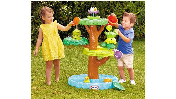 Little Tikes Magic Flower Water Table with Blooming Flower