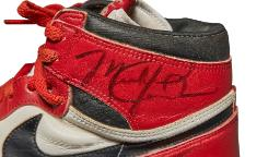 Michael Jordan's signature Air Jordan shoes from 1985 are going up for auction