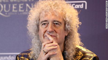 Brian May hospitalized after injuring buttocks in 'over-enthusiastic' gardening incident