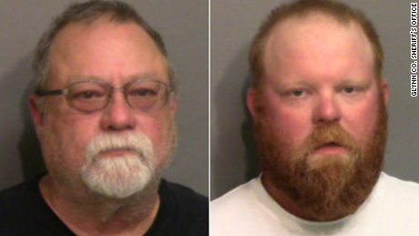 Gregory McMichael, 64, and Travis McMichael, 34