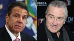 Andrew Cuomo is down for Robert De Niro to play him