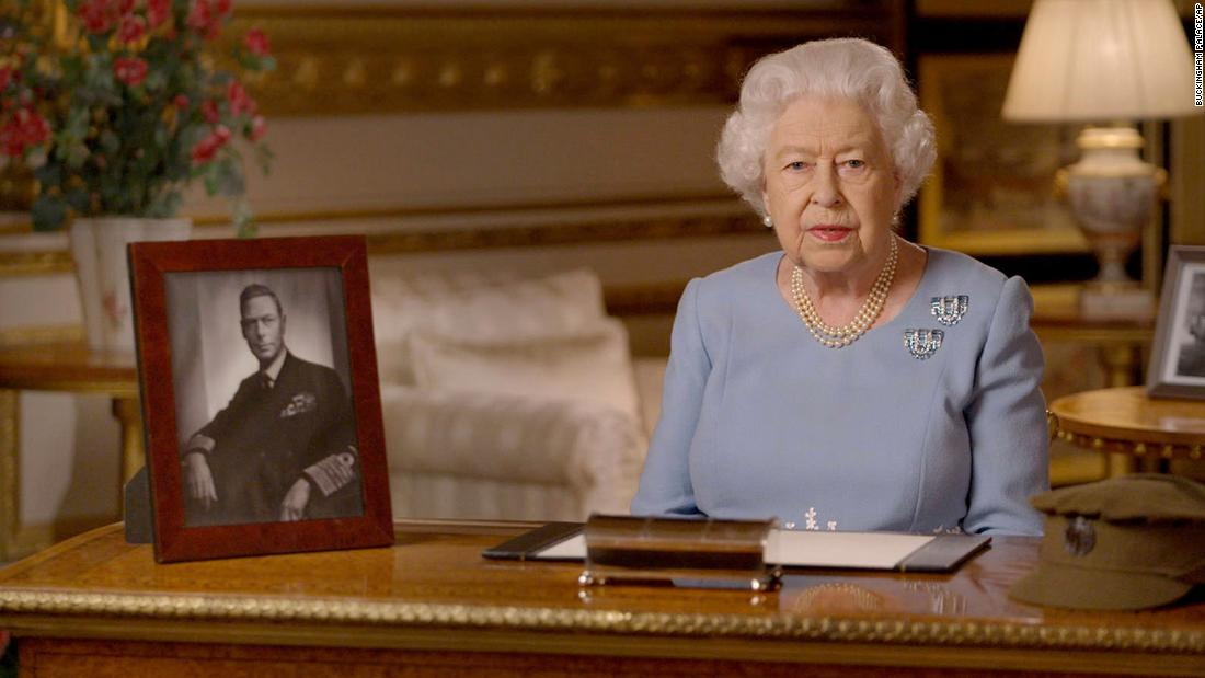 Queen Elizabeth says wartime generation would 'admire' Britain's response to coronavirus, in televised address to mark VE Day - CNN