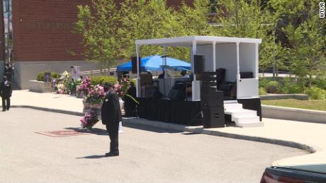 WATCH: Virginia Man Creates Rolling Pulpit for Coronavirus Pandemic Funerals
