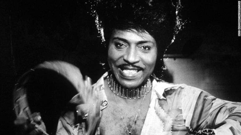 Little Richard was among the first class of inductees into the Rock and Roll Hall of Fame.