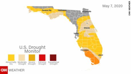 Florida drought monitor