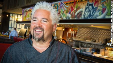 Guy Fieri partnered with National Restaurant Association Educational Foundation to champion the Restaurant Employee Relief Fund and raise money.