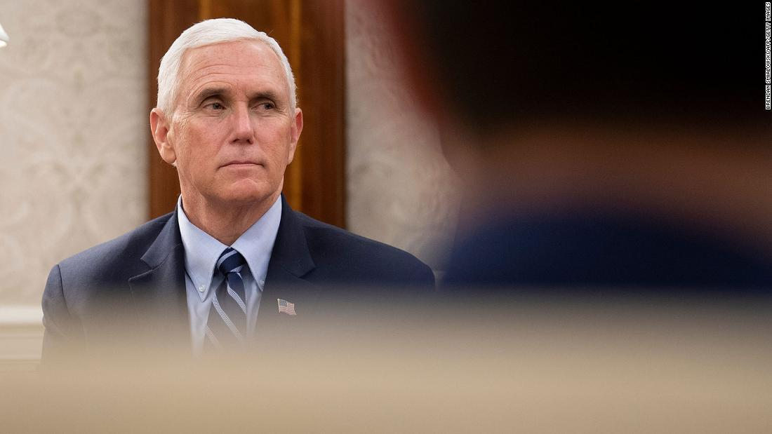 Asked repeatedly to say 'Black lives matter,' Mike Pence says 'all lives matter' thumbnail