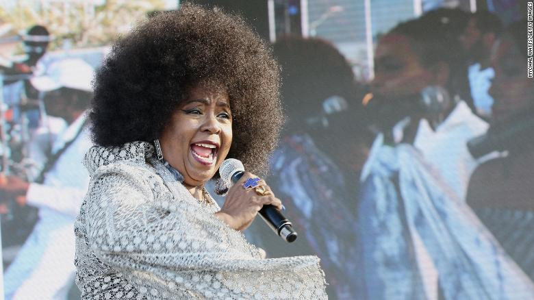 Betty Wright performs on stage at The 12th Annual Jazz In The Gardens Music Festival on March 18, 2017 in Miami Gardens, Florida.