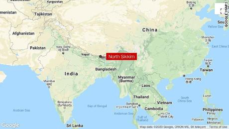 Chinese and Indian soldiers engage in 'aggressive' cross-border skirmish near Nuka La, North Sikkim region.