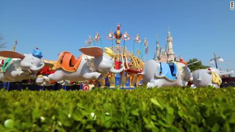 Shanghai Disneyland reopens with timed entry and social distancing