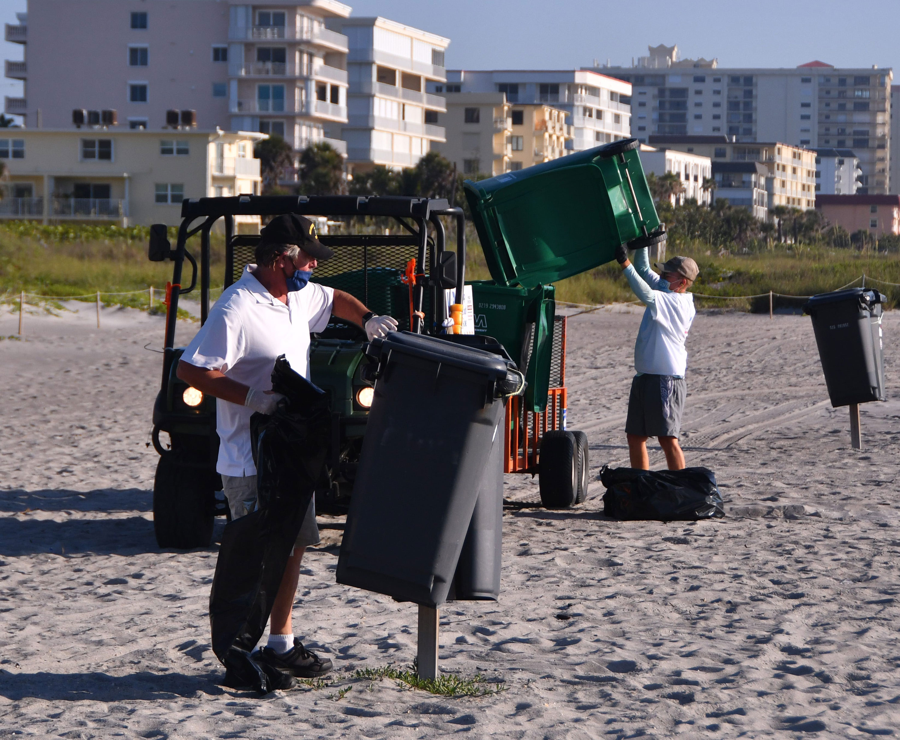 Cocoa Beach is cracking down after 12,000 pounds of trash were ...