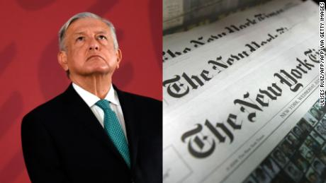 López Obrador critica al New York Times por cuestionar datos oficiales de covid-19 - CNN Video